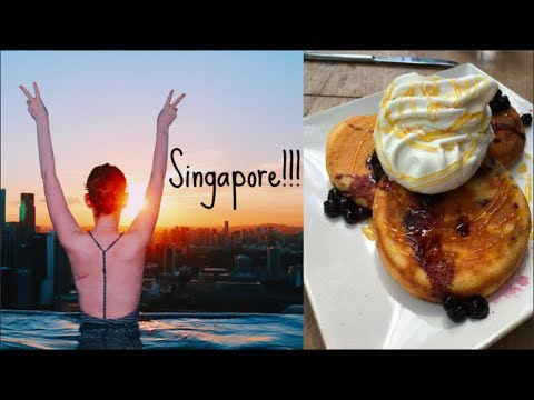 Travelling In Singapore!!! Vlog