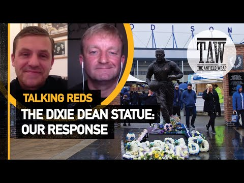 The Dixie Dean Statue - Our Response  Talking Reds