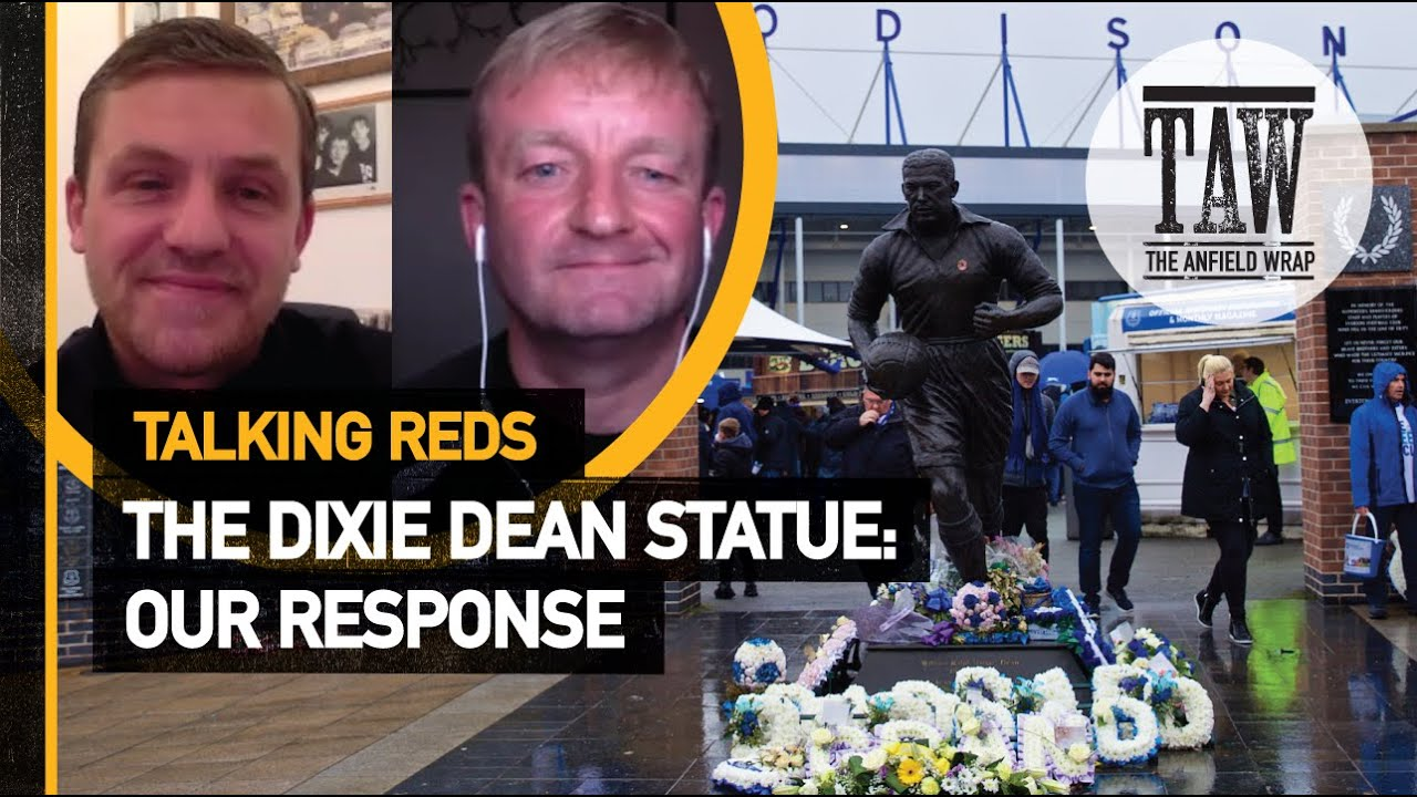 The Dixie Dean Statue - Our Response | Talking Reds