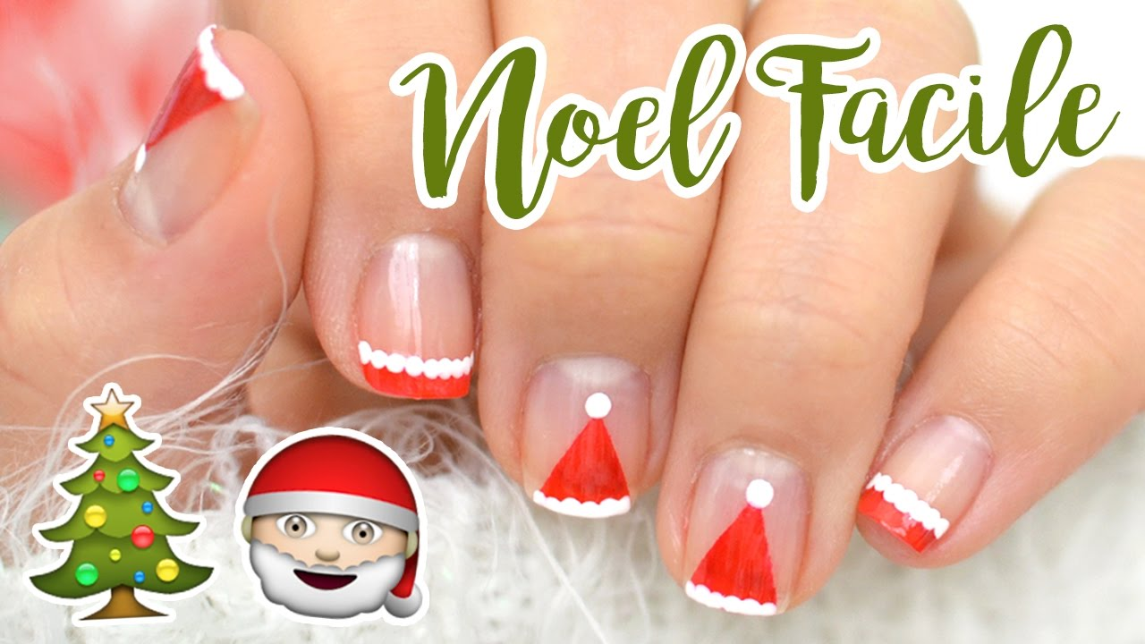 Nail art facile de noel youtube - Nail art noel facile ...