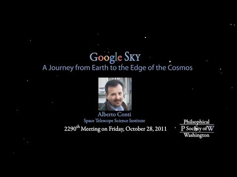 PSW 2290 GoogleSky A Journey from Earth to the Edge of the Cosmos  | Alberto Conti