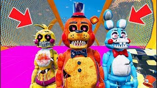 NIGHTMARE TOY ANIMATRONICS STUNT ON WORLD