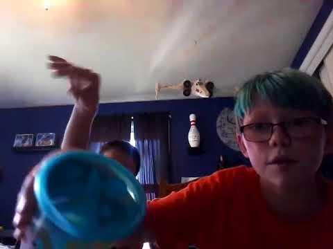 Best friends challenge with Josh. Lemon juice