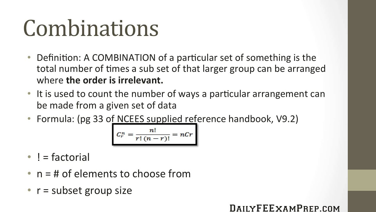 Combinations - Study Material for IIT JEE | askIITians