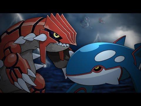 Groudon vs Kyogre. Epic Rap Battles of Pokémon #17.