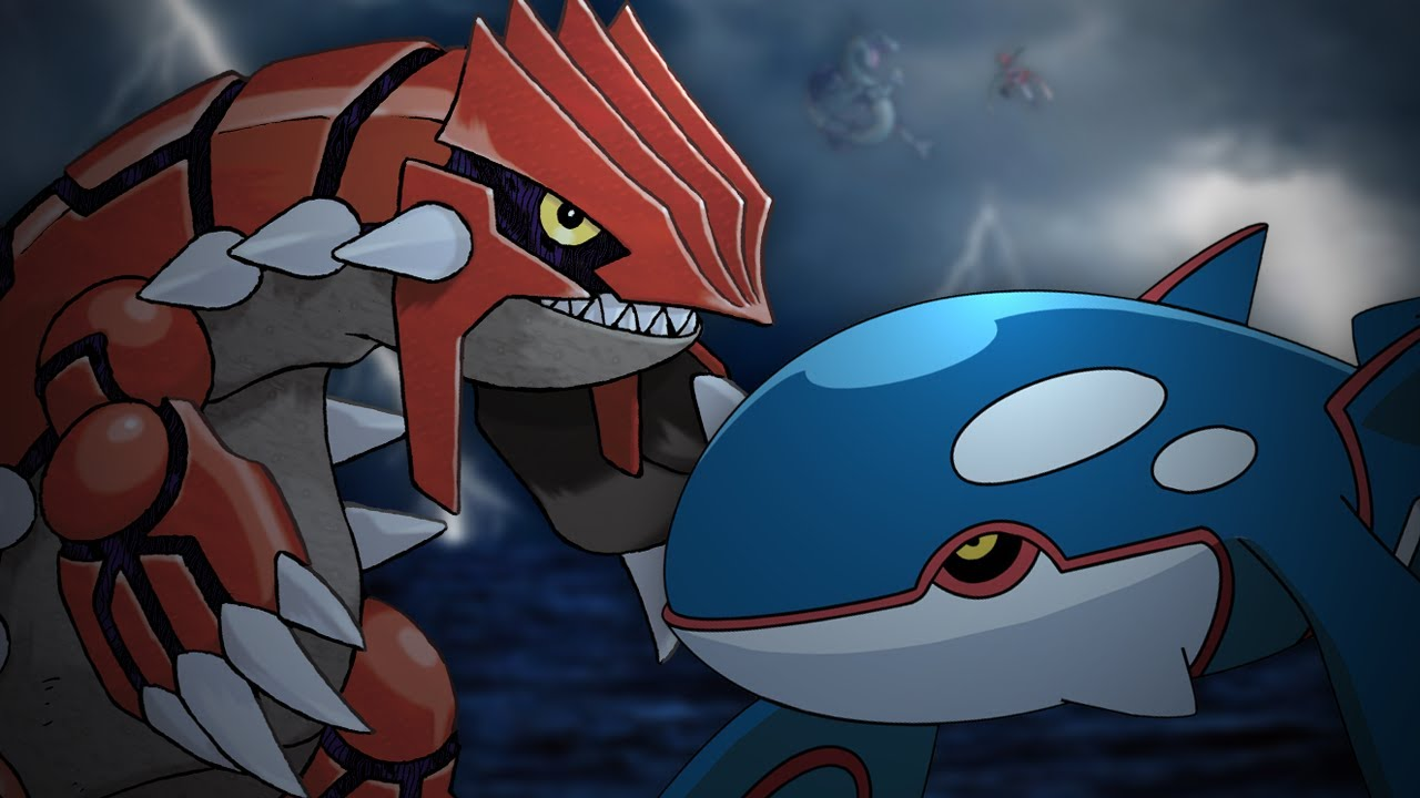Groudon vs kyogre epic rap battles of pok mon 17 youtube - Pictures of groudon and kyogre ...