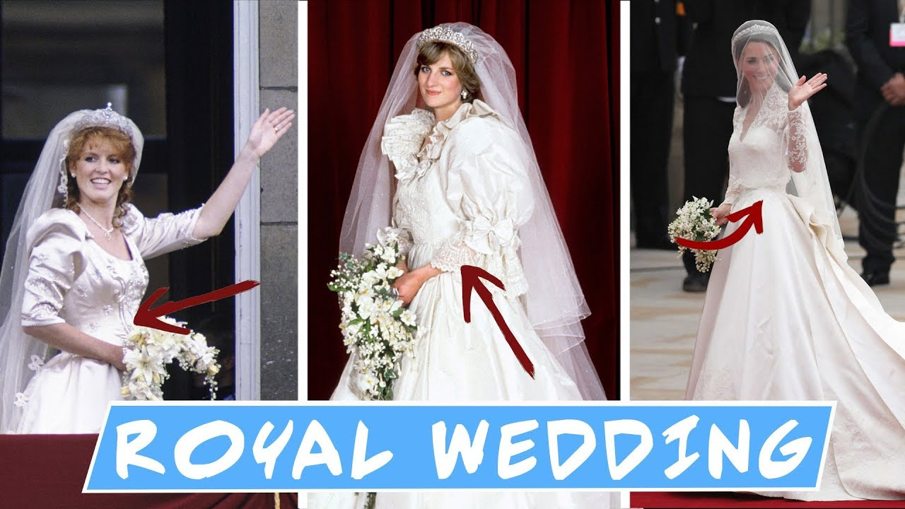 Gaun Pengantin Termewah Kerajaan Inggris Dari Generasi ke Generasi - ROYAL  WEDDING GOWN