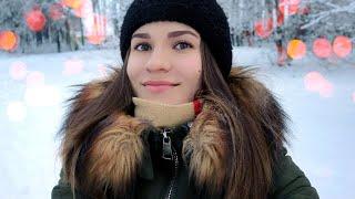 АSMR ❄ VLOG - Зимняя прогулка 🌲