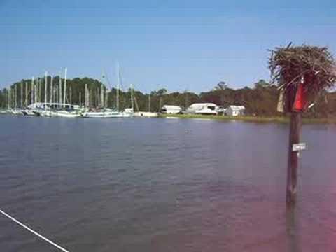Adventures In Sailing - Approaching Mobjack Bay Marina