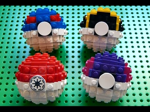 Lego Great Ball Ultra Ball And Master Ball Pokemon