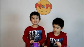 Mighty Beanz fun with two brother recording their first video