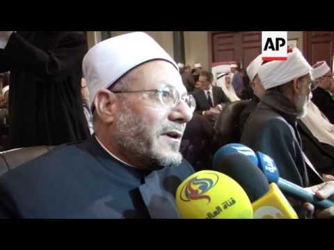 Religious leaders gather in Cairo for anti-extremism conference