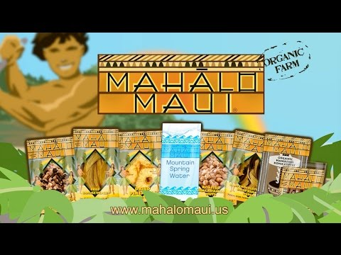 Mahalo Maui Brand Products TV Commercial
