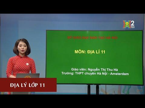MÔN ĐỊA LÝ - LỚP 11   BÀI 10: CHND TRUNG HOA (TRUNG QUỐC) - TIẾT 1   17H10 NGÀY 02.04.2020   HANOITV