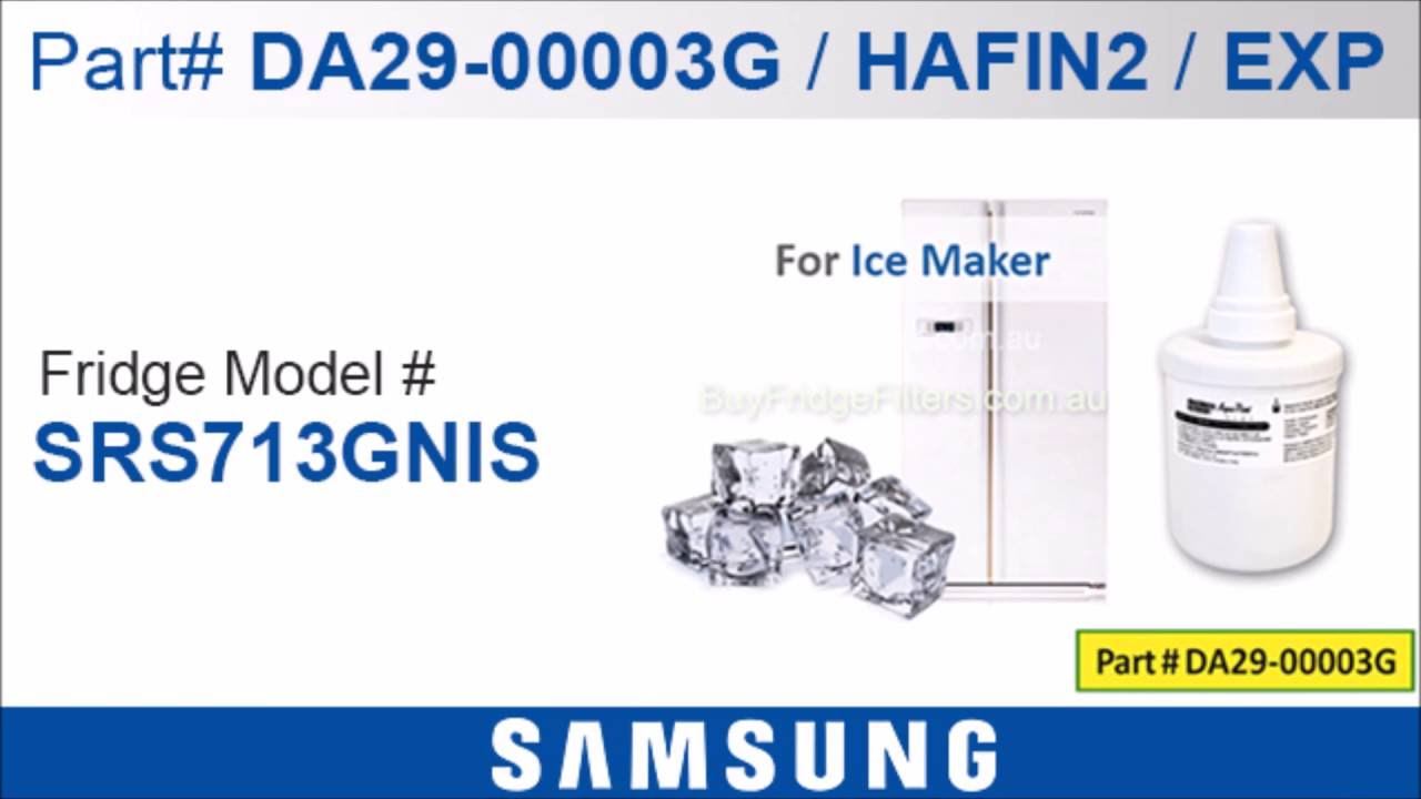 genuine samsung fridge filter fits the following samsung fridges 06 - Da29 00003g