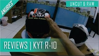 Full Review : KYT R10   Indonesia Motovlogs [UNCUT & RAW]
