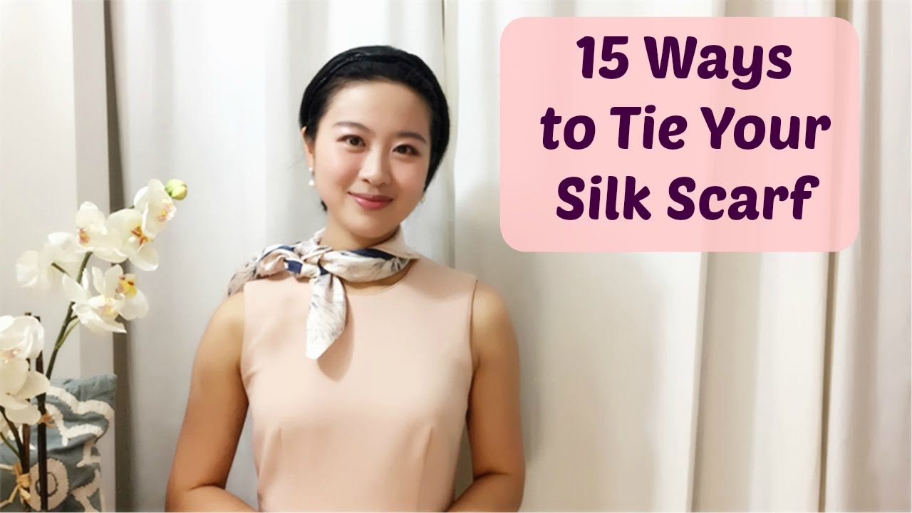 How To Wear A Silk Scarf In 15 Easy Ways