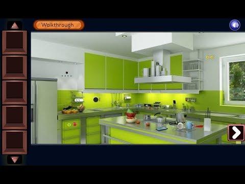 Gfg Modular Kitchen Escape Walkthrough Geniefungames Youtube