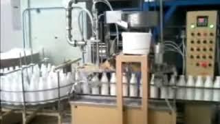 Упаковочное оборудование. Линия для фасовки жидких продуктов в бутылки(, 2012-10-23T15:04:57.000Z)