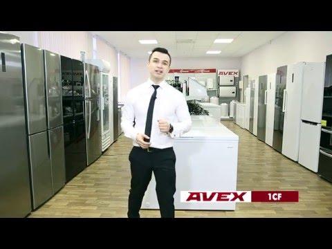 Обзор морозильных ларей AVEX серии 1CF