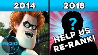 Top 10 Pixar Villains!