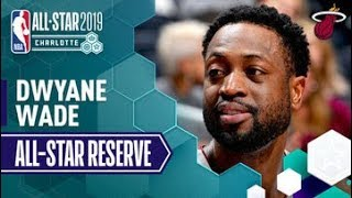 Dwyane Wade, from the Miami Heat has been named a reserve for the 2019 NBA All-Star Game. Let's take a look at his best highlights from the 2018-19 NBA Season so far!  Subscribe to the NBA: http://bit.ly/2rCglzY  For news, stories, highlights and more, go to our official website at http://www.nba.com  Get NBA LEAGUE PASS: http://www.nba.com/leaguepass