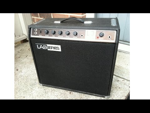 1979 lab series l3 112 combo amp demo moog gibson youtube. Black Bedroom Furniture Sets. Home Design Ideas