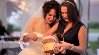 Ольга Funny and Orange Wedding