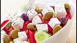 How to make the Original Greek Salad - Horiatiki - Recipe