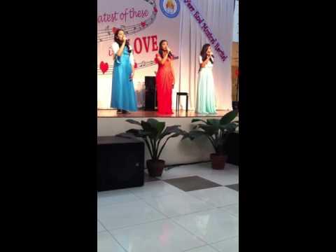 """You are my song"" Trio Female of Shekinah Glory Christian Academy Recital 2016"