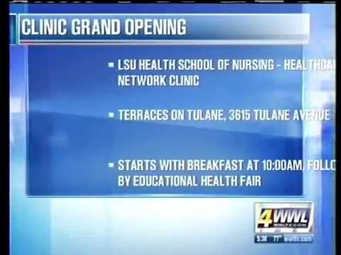 Senior Health Clinic Grand Opening at Volunteers of America's Terraces on Tulane Facility