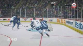 NHL 12 Online Gameplay Highlights XBOX 360 (Rimouski vs Chicoutimi) HD