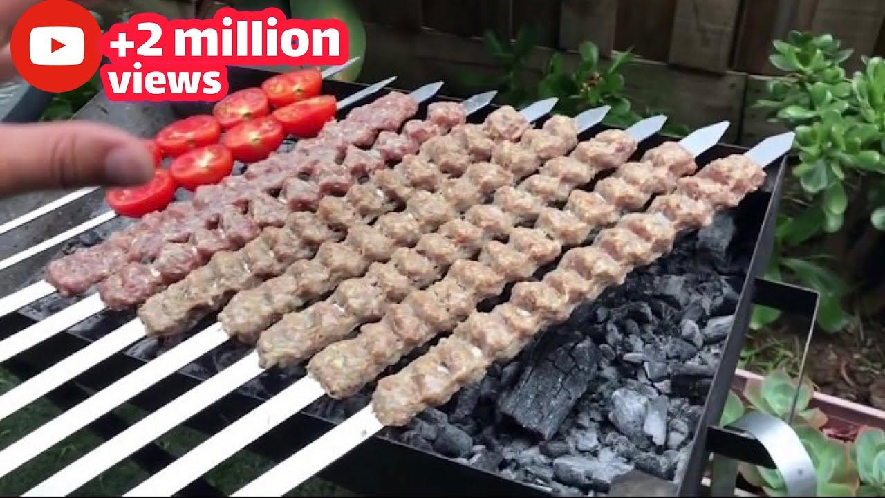 آموزش کباب کوبیده حرفه ای برای افراد مبتدی و ۱۰ فوت کوزه گری برای کوبیده 1000000 views