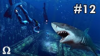 DEPTH: DIVERS VS SHARKS | #12 - MAX AND DELIRIOUS EARN THEIR SHARK TEETH! (60FPS)
