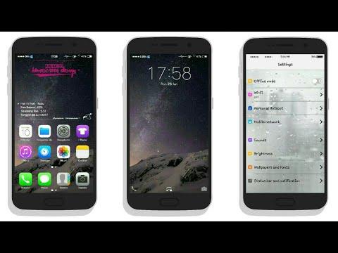 iOS 11 Theme for Vivo Smartphone 😱