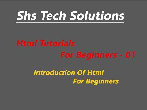 Html Tutorial For Beginners | What Is Html | How To Learn Html | Html Basic Concepts|Html Basic Tags