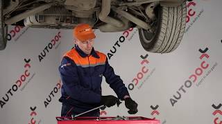 How to replace Motor mount FIAT DOBLO Box Body / Estate (263) Tutorial