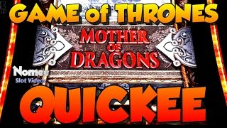 Game of Thrones Slot Machine - Mother of Dragons Picking Bonus - $1 Bet(I don't watch the show but I do like the Slot. Here is a nice win on the Mother of Dragons picking bonus. Thanks for watching! Please Subscribe for More Wins!, 2016-04-25T14:58:35.000Z)