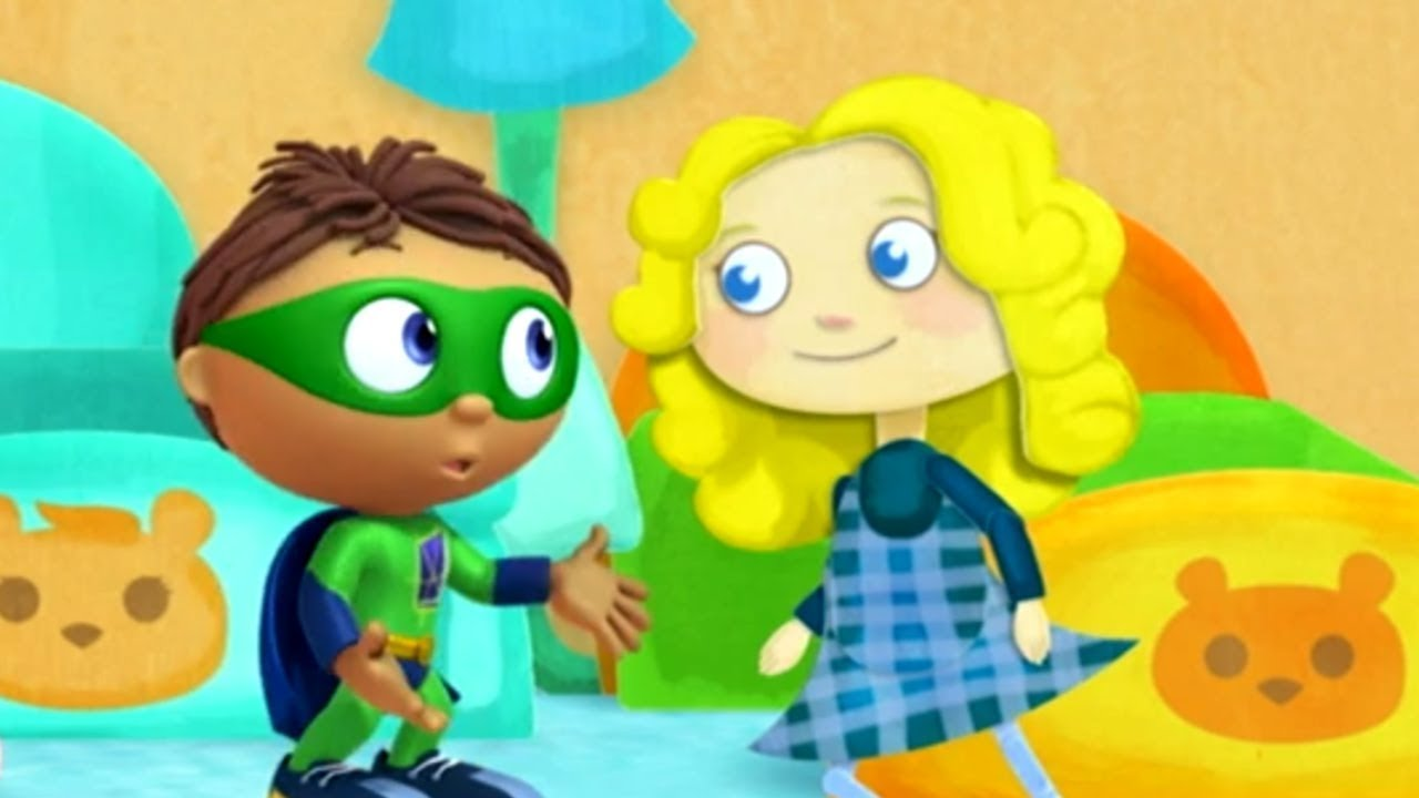 This is a photo of Shocking Super Why Images