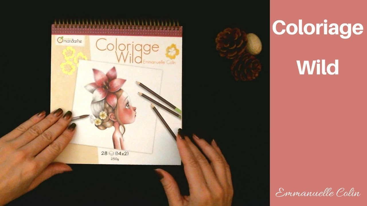 Coloring Book Flip Through Coloriage Wild Emmanuelle Colin