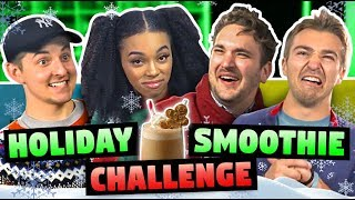 SMOOTHIE CHALLENGE (Christmas Food!)