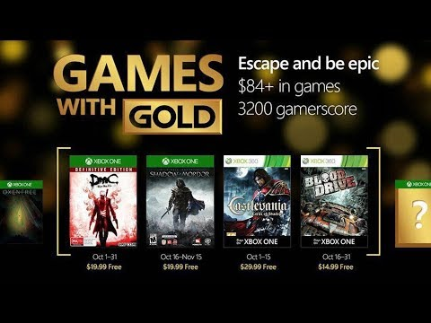 Xbox Noviembre 2018 Games With Gold Juegos Gratis Youtube