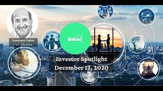 Lawrence Taylor, CEO Christina at Linked Ventures Investor Spotlight December 17, 2020