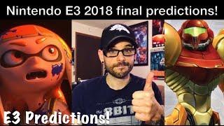 E3 2018 - Some final Nintendo Switch game predictions! | Ro2R