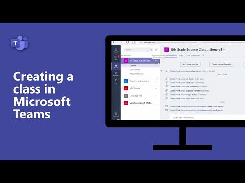 Module 4: Creating a Class in Microsoft Teams