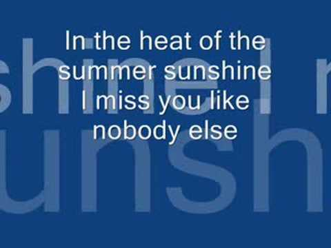 Summer Sunshine by The Corrs with lyrics