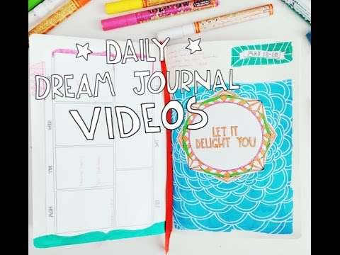 DIY Creative Dream Planner: Daily Dream Journal Video March 13