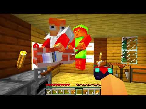 100 NOTTI Con SIREN HEAD Su Minecraft!