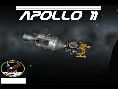 Kerbal Space Program- Apollo 11 [ Movie ]