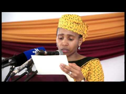 Lesotho Queen Masenate launches free sanitary towels project
